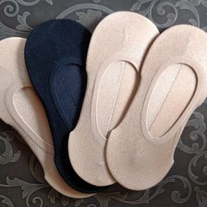 Accessories - Four pair no show socks NEW!